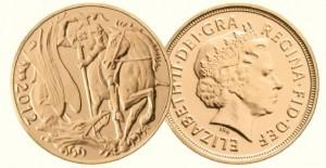 2012 Gold Sovereign Coin