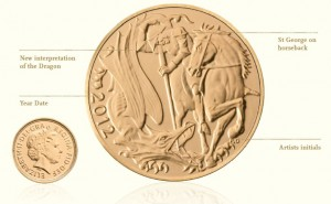 2012 Gold Sovereign Coin Specification
