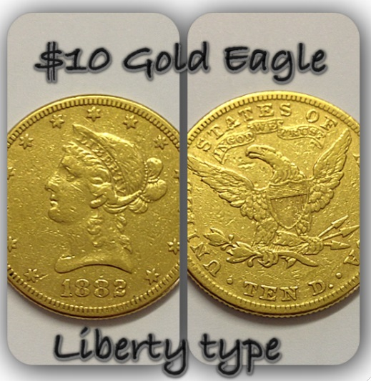The beautifully detailed Gold Eagle, available online now.